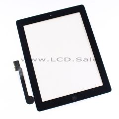 Black Glass Digitizer Touch Screen with Home Button for iPad 3
